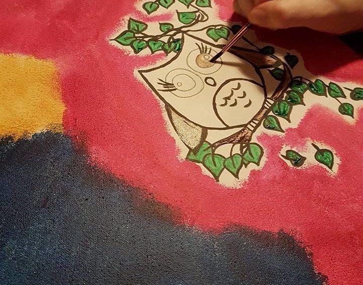 hand schilderen
