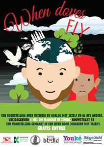 flyer voorstelling When Doves FLY